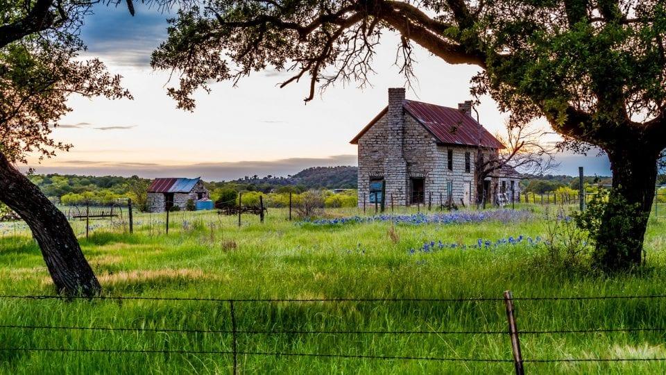 Ein Grundstück in Texas