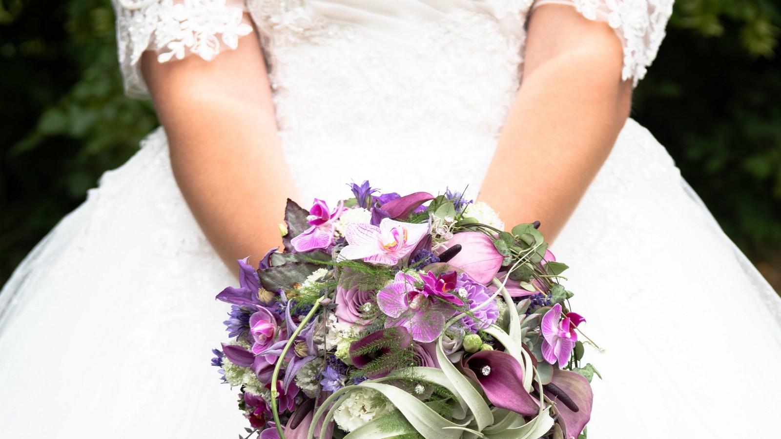 Das Brautkleid von Sarafina Wollny
