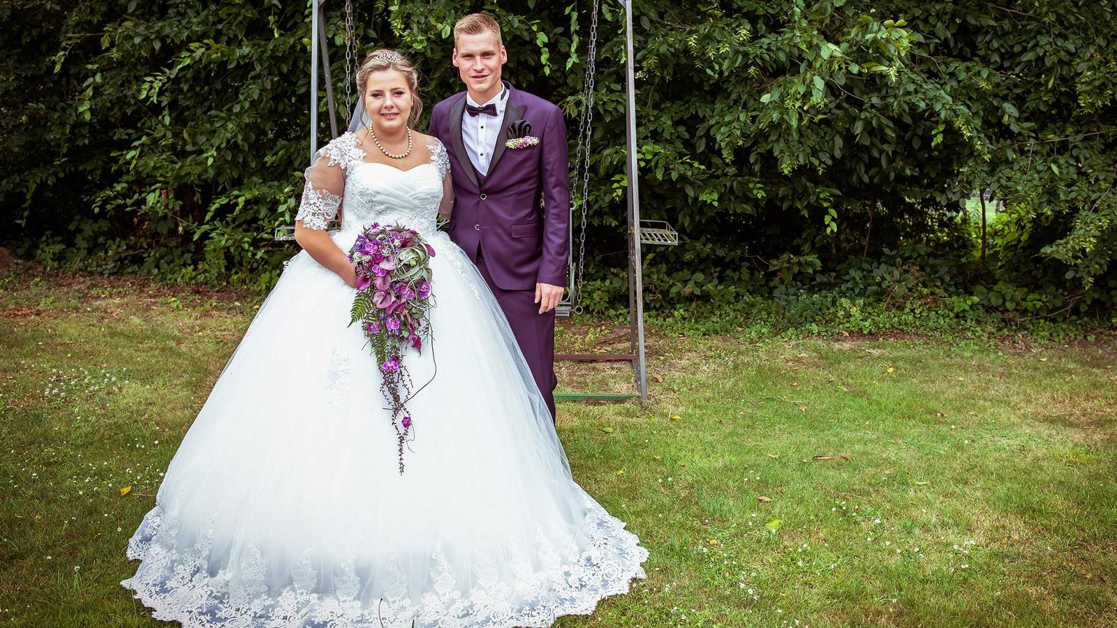 Sarafina Wollny und Peter Heck