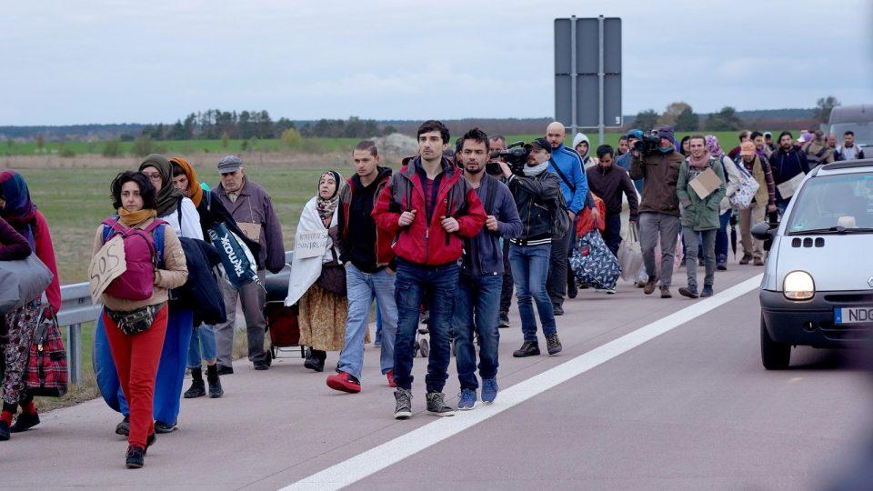 """Angela Merkel und die Flüchtlinge"""