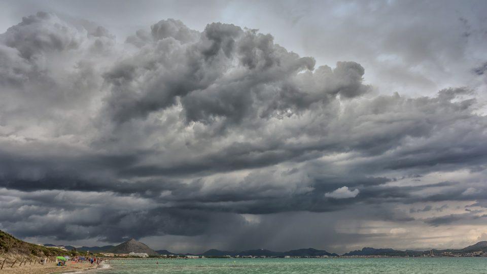 Unwetter auf Mallorca