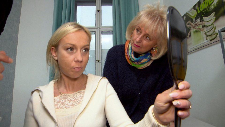 """Peggy und Lilo bei """"Berlin - Tag & Nacht"""""""