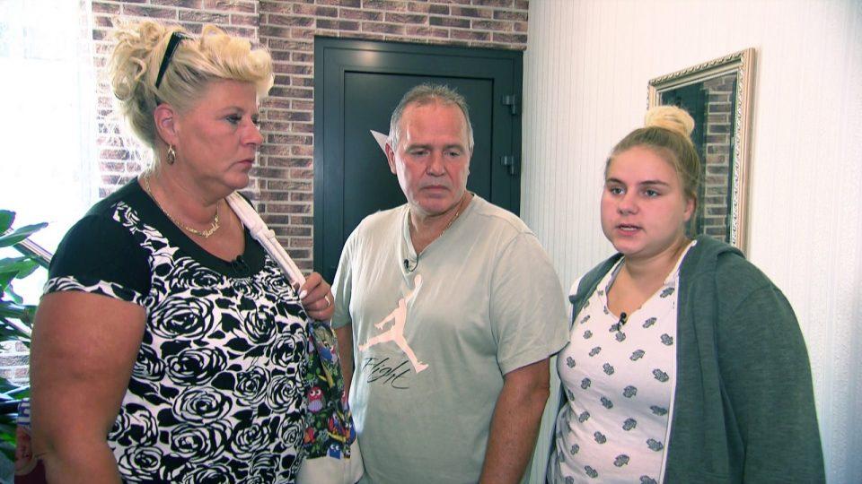 Estefanie, Silvia und Harald