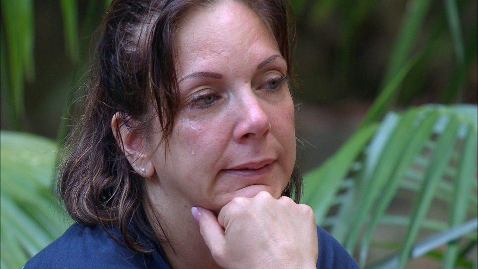 Daniela Büchner im Dschungelcamp