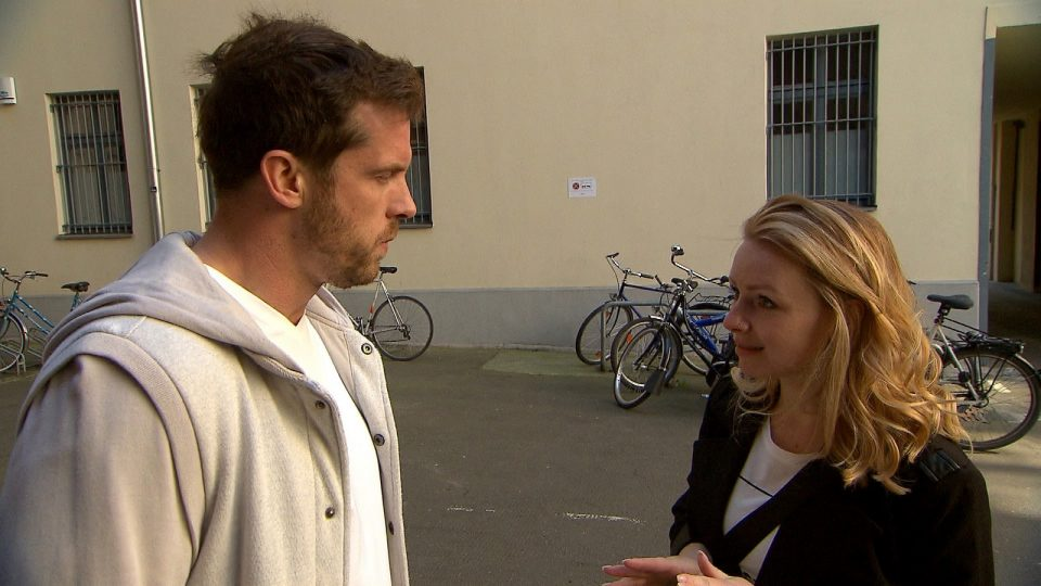 """Basti und Emmi bei """"Berlin - Tag & Nacht"""""""