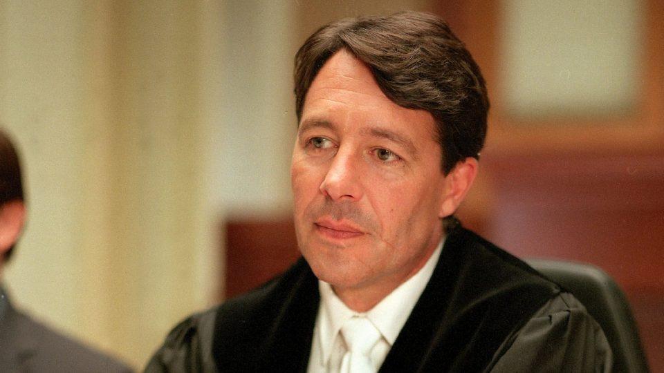 """Richter Ulrich Wetzel bei """"Das Strafgericht"""""""