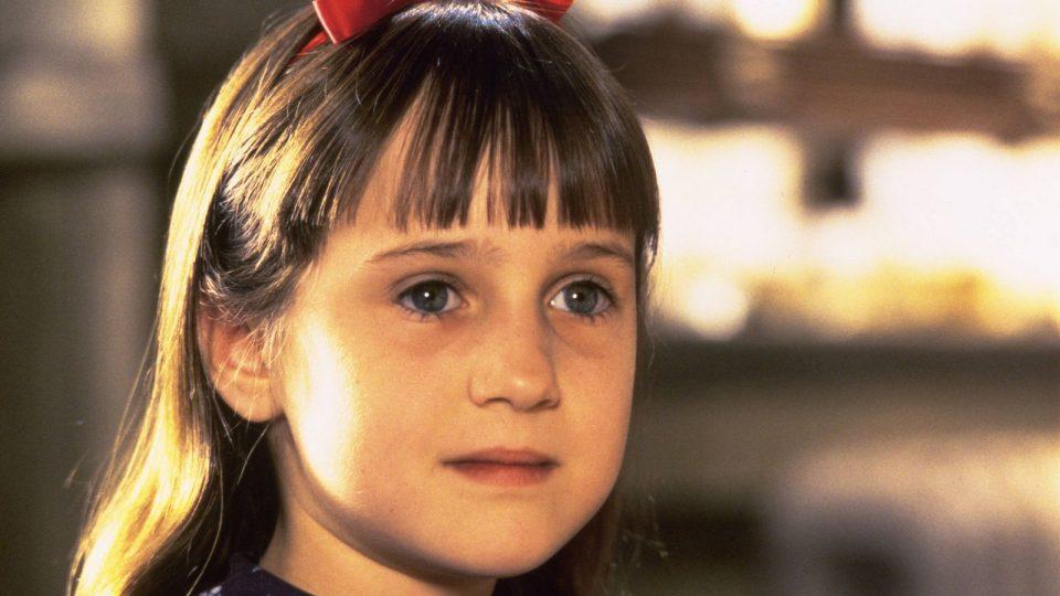 """Mara Wilson in """"Matilda"""""""