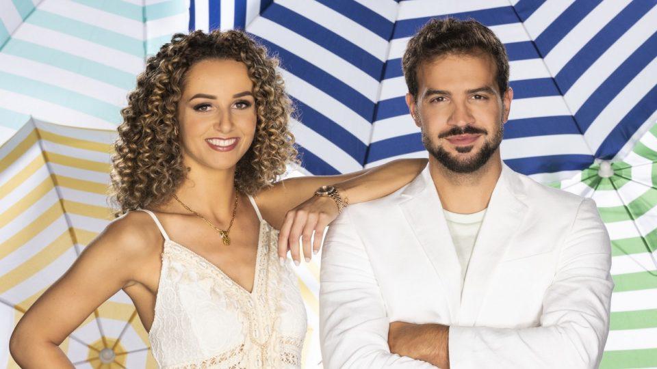 """Samira Cilingir und Yasin Cilingir im """"Sommerhaus der Stars"""""""