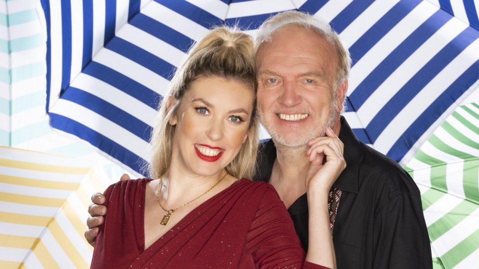 """Interview mit Roland Heitz und Janina Korn im """"Sommerhaus der Stars"""""""